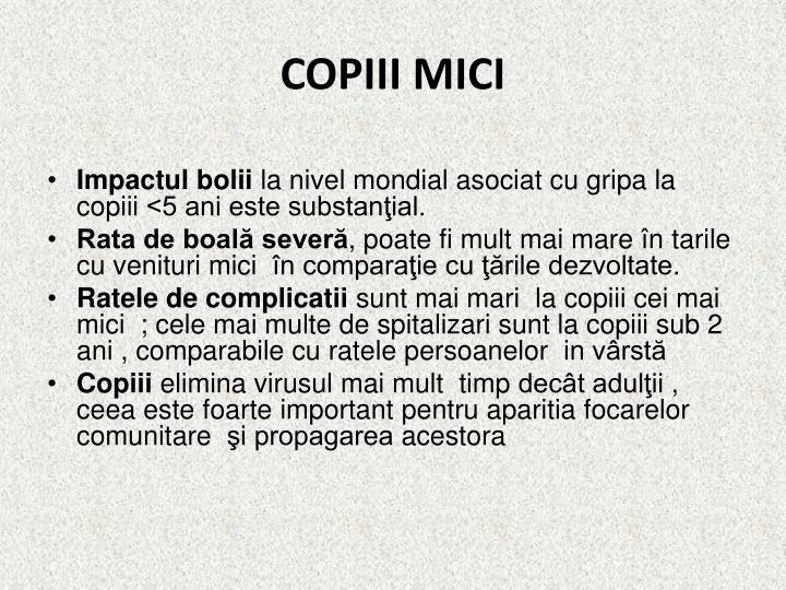 COPIII MICI