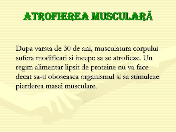 Atrofierea muscular