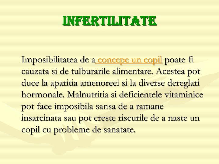Infertilitate
