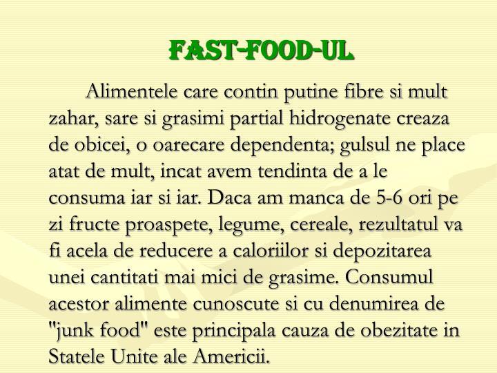 Fast-food-ul