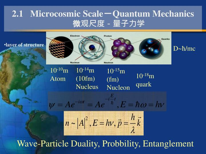 2.1   Microcosmic Scale