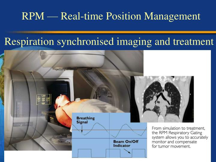 RPM  Real-time Position Management