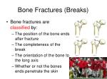 bone fractures breaks