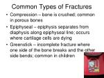 common types of fractures1