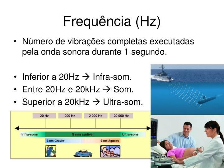 Frequência (Hz)
