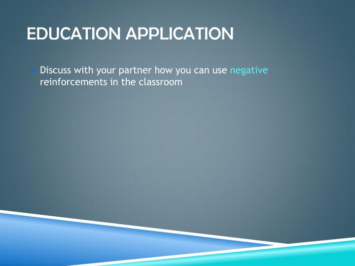 Education application