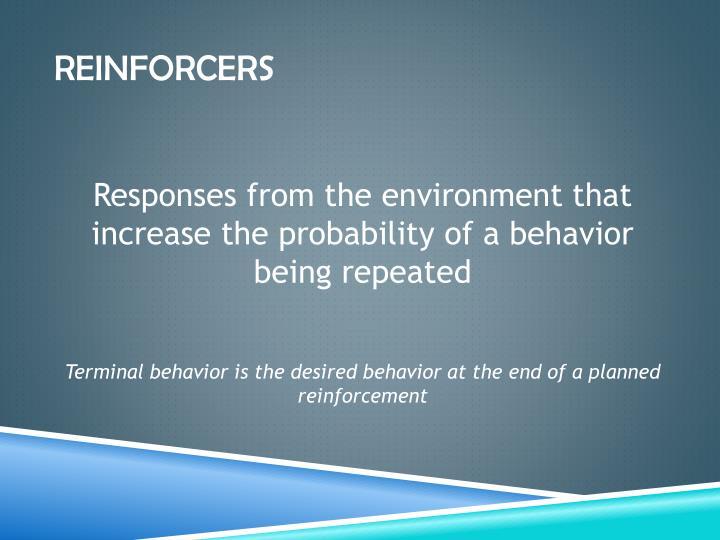 Reinforcers
