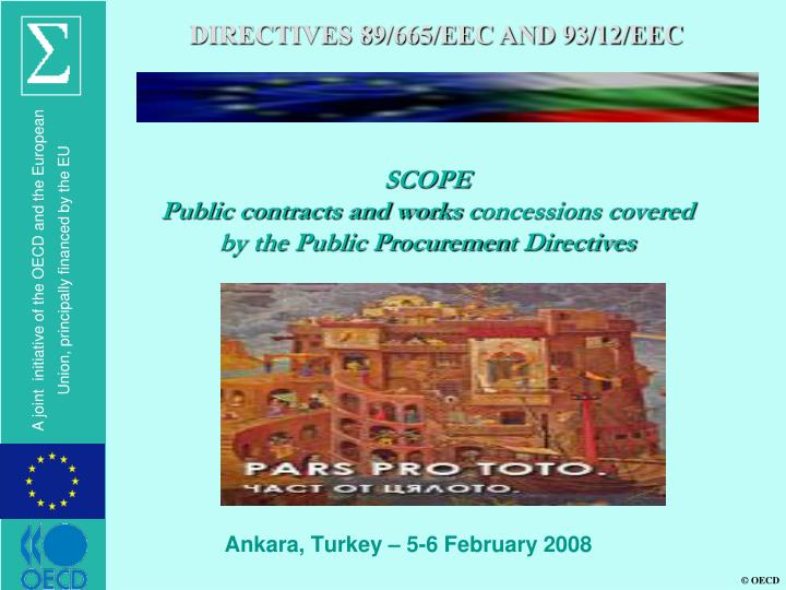 DIRECTIVES 89/665/EEC AND 93/12/EEC