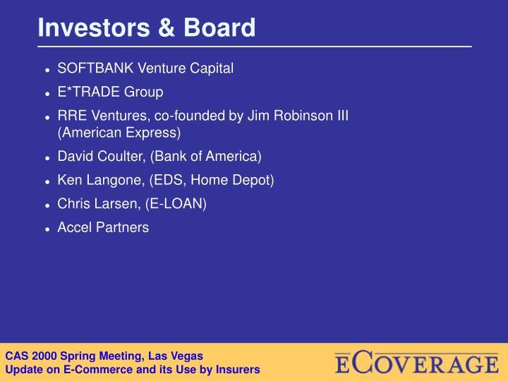 Investors & Board