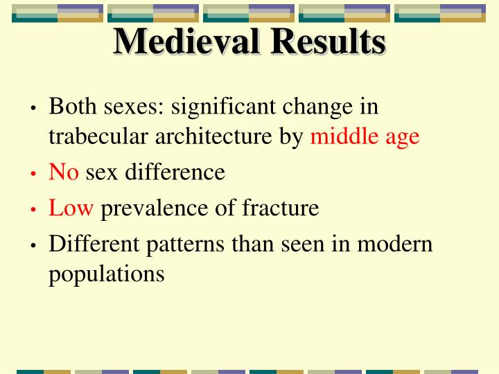Medieval Results