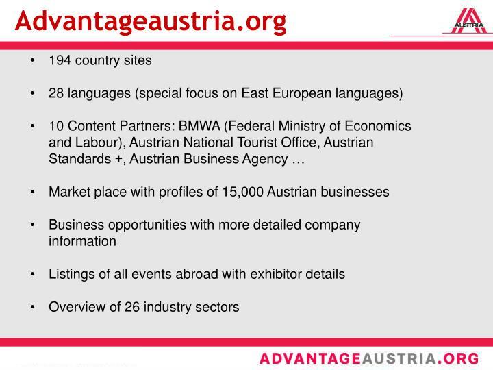 Advantageaustria.org