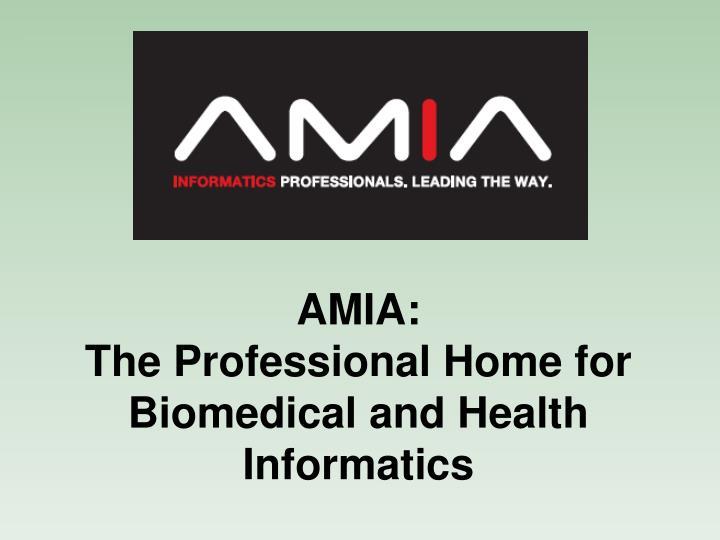 AMIA: