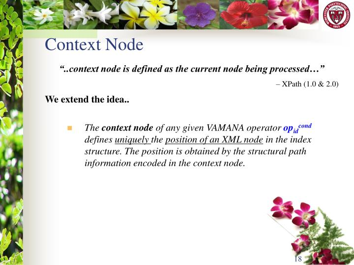Context Node