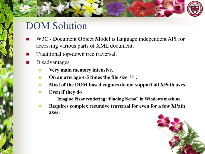 DOM Solution