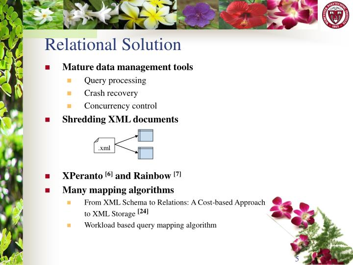 Relational Solution