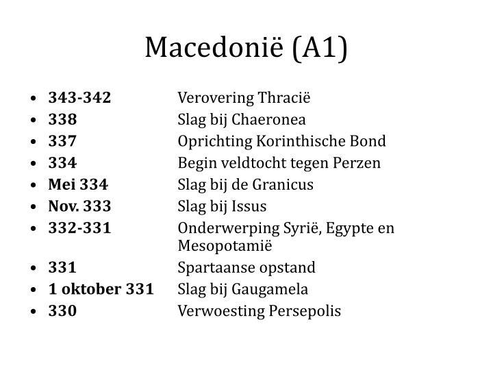 Macedonië (A1)