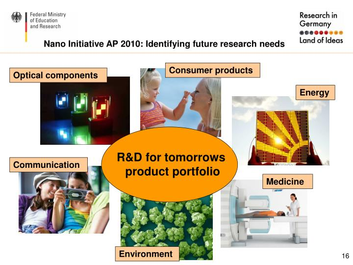 Nano Initiative AP 2010: Identifying future research needs