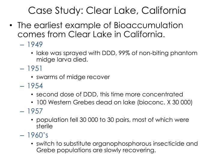 Case Study: Clear Lake, California