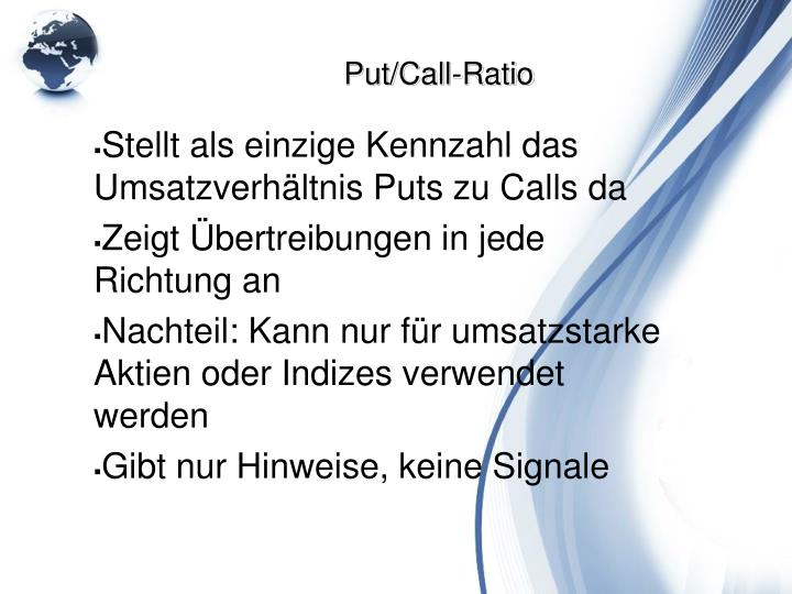 Put/Call-Ratio