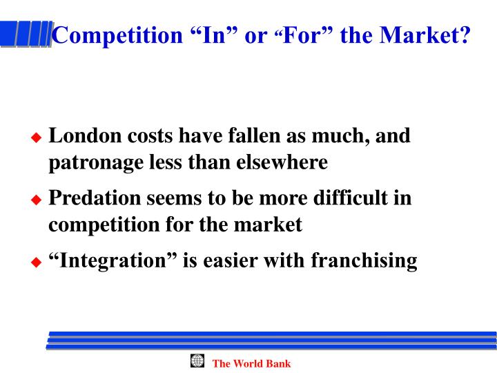 "Competition ""In"" or"