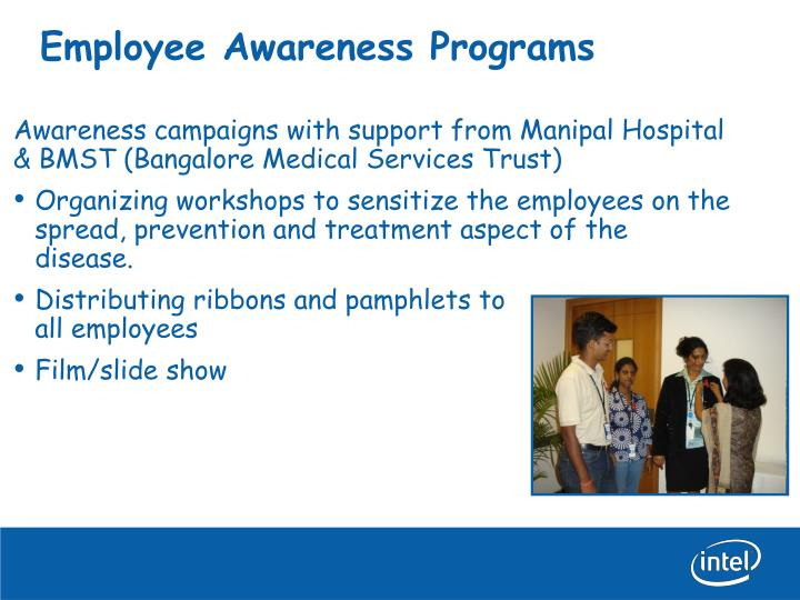 Employee awareness programs
