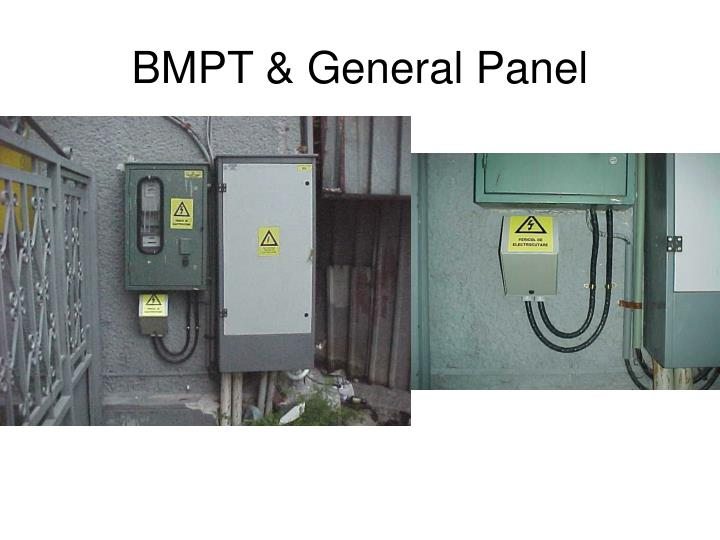 BMPT & General Panel
