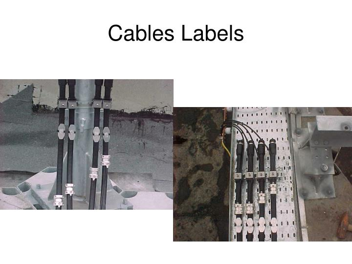 Cables Labels