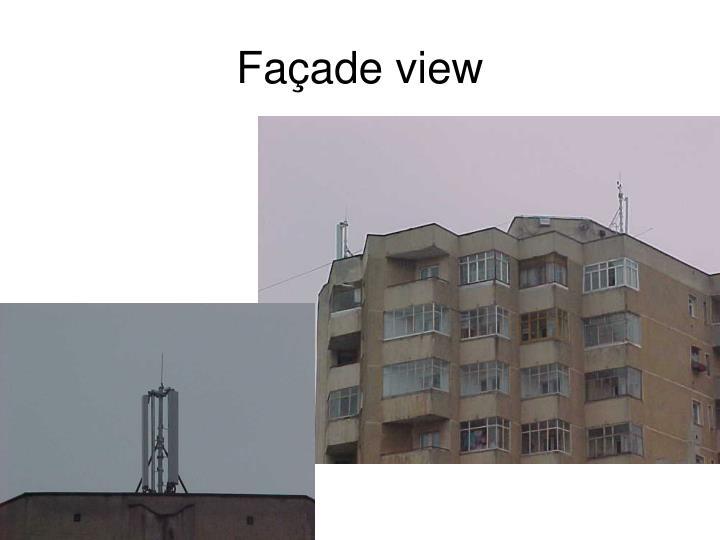 Façade view
