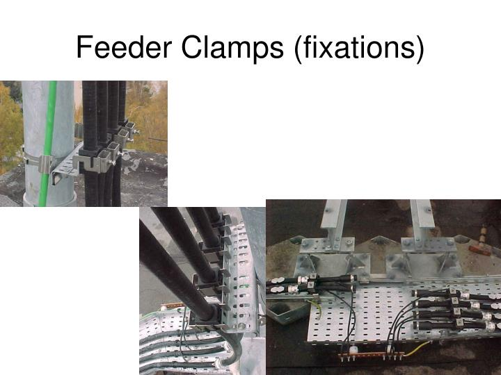 Feeder Clamps (fixations)
