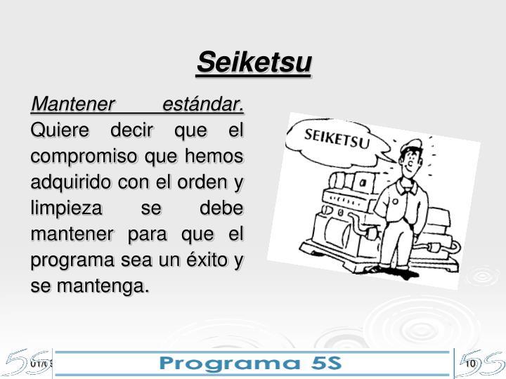 Seiketsu