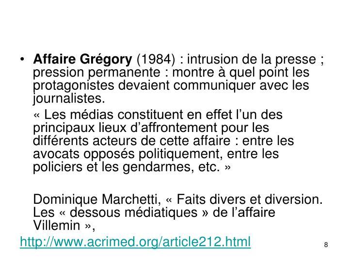 Affaire Grégory
