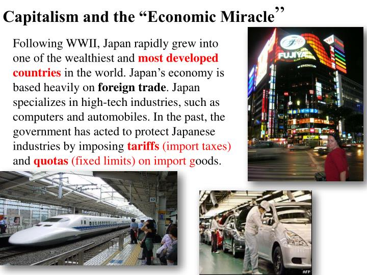 """Capitalism and the """"Economic Miracle"""