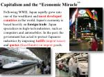 capitalism and the economic miracle