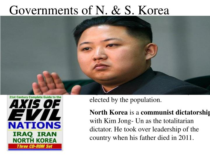 Governments of N. & S. Korea