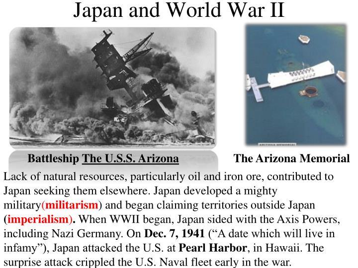 Japan and World War II