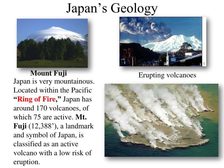 Japan's Geology