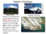 japan s geology