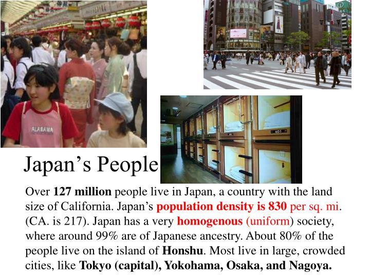 Japan's People