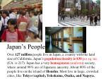 japan s people