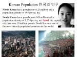 korean population
