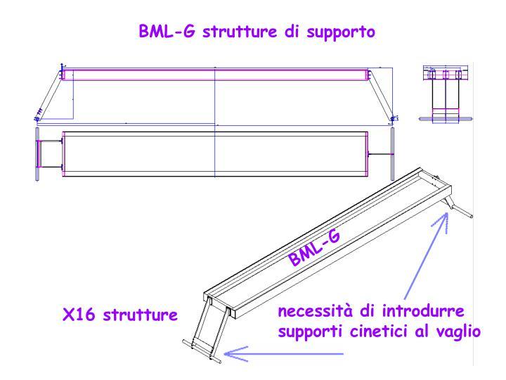 BML-G strutture di supporto