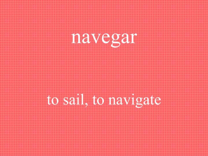 navegar