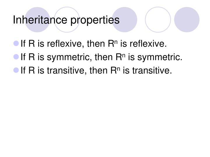 Inheritance properties