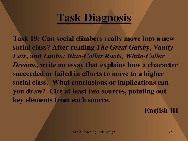Task Diagnosis