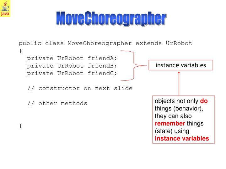 MoveChoreographer