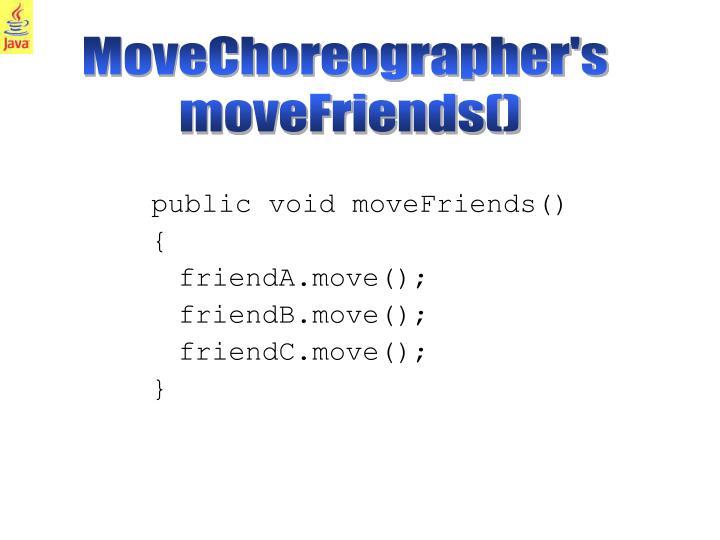 MoveChoreographer's
