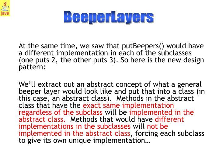BeeperLayers