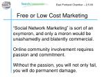 free or low cost marketing18