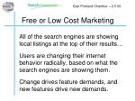 free or low cost marketing3