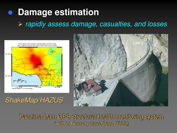 Damage estimation